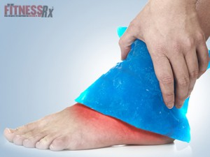 Intermittent Icing Best for Ankle Sprains