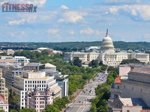 Washington D.C. is the Fittest City in the U.S.