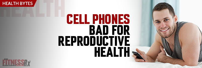 Cell Phones Bad for Reproductive Health