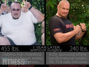 Mark Eisenhart Uses Health and Fitness To Get His Inspirational Message Across