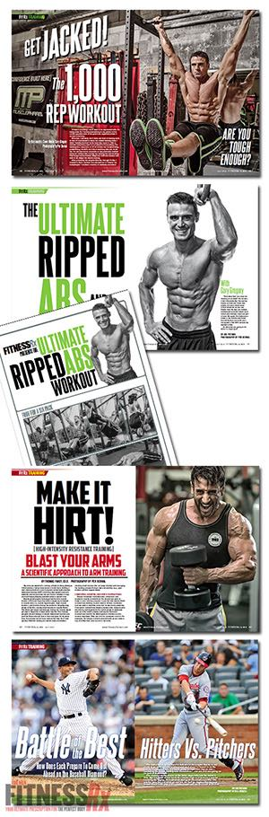 In This Issue - Get Shredded For Summer