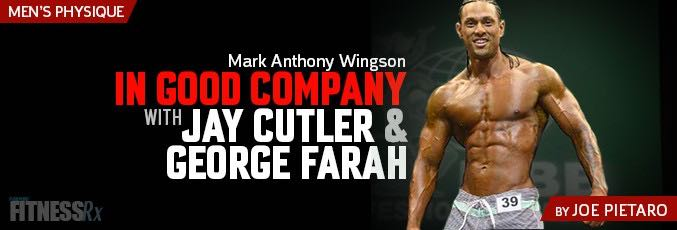 Mark Anthony Wingson: In Good Company With Jay Cutler & George Farah