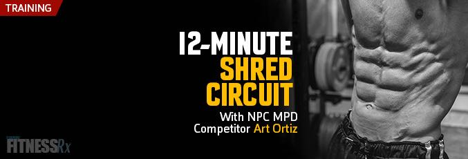 12-Minute Shred Circuit