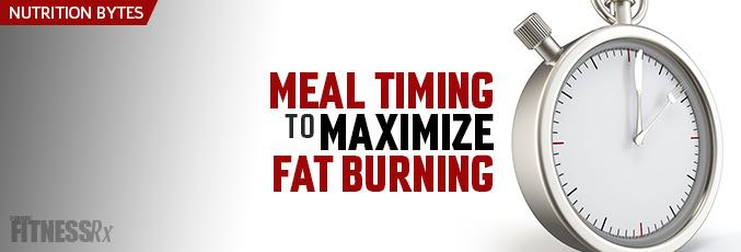 Meal Timing to Maximize Fat Burning