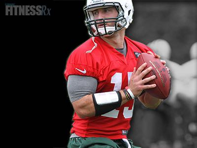Conditioning, Tebow Style - QB Reports To Patriots in Great Shape