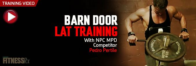 Barn Door Lat Training