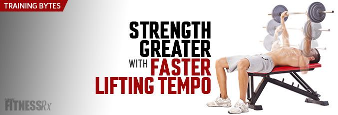 Strength Greater With Faster Lifting Tempo
