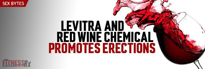 Levitra and Red Wine Chemical Promotes Erections