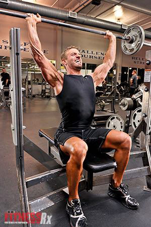 Behind-the-Neck Presses - Pack Power and Size into Your Shoulders