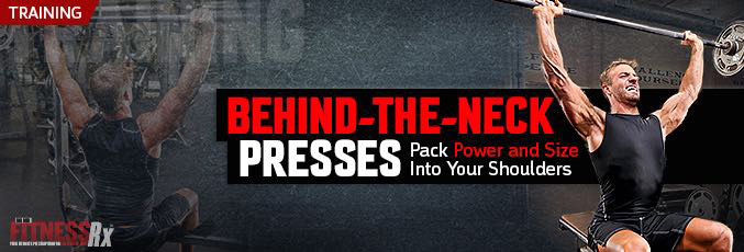 Behind-the-Neck Presses