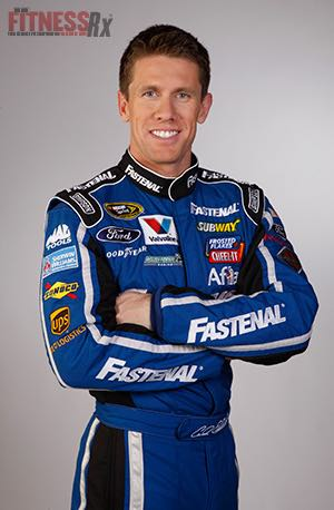 Carl Edwards - World's Fittest NASCAR Driver