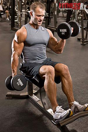 Fast Eccentric Arm-Blaster Workout - Scientific Breakthrough for Building Stronger & Bigger Guns