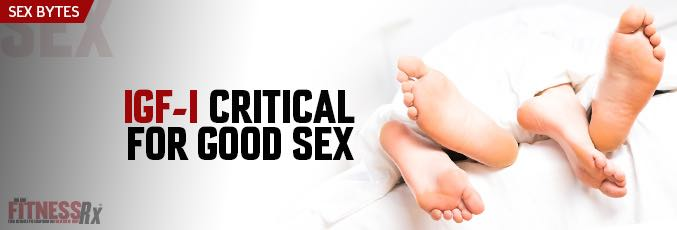 IGF-1 Critical for Good Sex