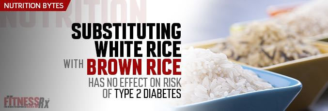 Substituting White Rice with Brown Rice