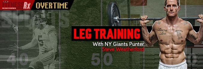 NFL Leg Training