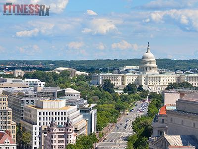 Washington D.C. - Is the Fittest City in the U.S.