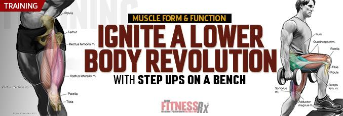 Ignite A Lower Body Revolution With Step-Ups