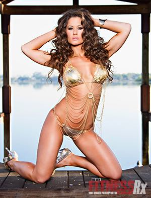 Leather & Lace - TNA Wrestling Knockout Brooke Adams Kills Both
