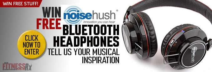 Win Free NoiseHush Bluetooth Headphones