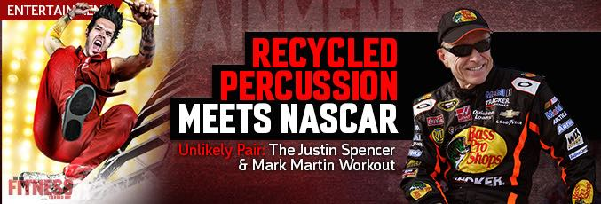 Recycled Percussion Meets NASCAR