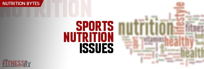 Sports Nutrition Issues