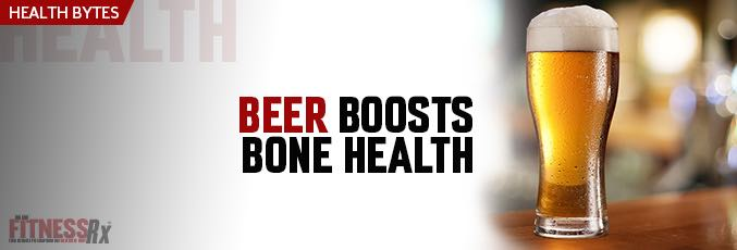 Beer Boosts Bone Health