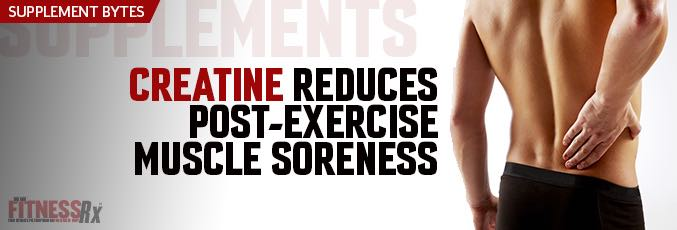 Creatine Reduces