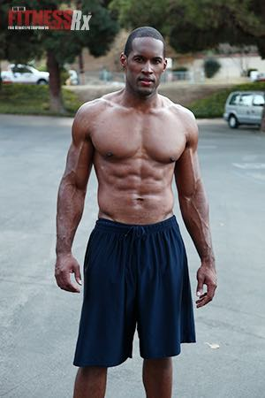 Emmy For Conditioning - Soap Opera Star Lawrence Saint-Victor