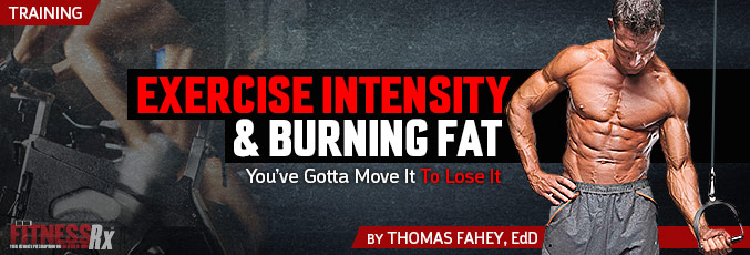 Exercise Intensity and Burning Fat