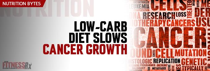 Low-Carb Diet Slows Cancer Growth