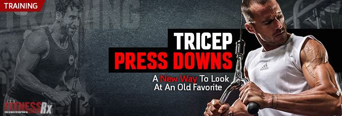 Triceps Press Downs