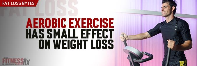 Aerobic Exercise Has Small Effect on Weight Loss