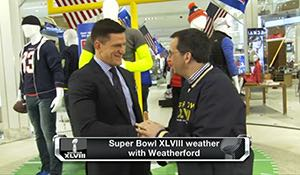 Our Cover on The NFL Network - Steve Weatherford Talks SB XLVIII, FitnessRX For Men