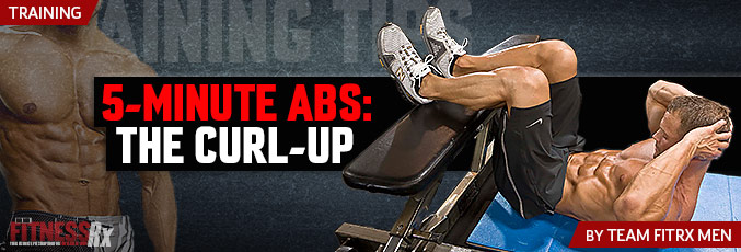 5-Minute Abs: The Curl-Up