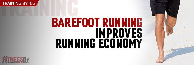 Barefoot Running Improves Running Economy