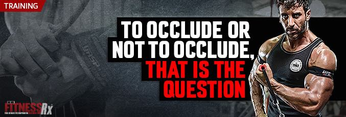 To Occlude Or Not To Occlude