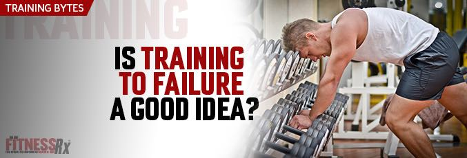 Is Training to Failure a Good Idea?