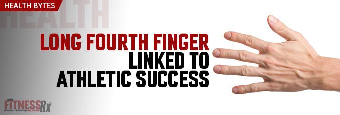 Long Fourth Finger Linked to Athletic Success