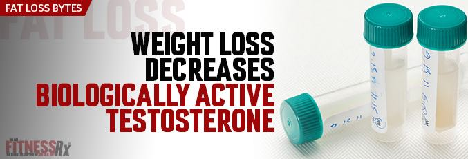Weight Loss Decreases Biologically Active Testosterone