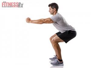 Keep the Knees Behind the Toes When Squatting
