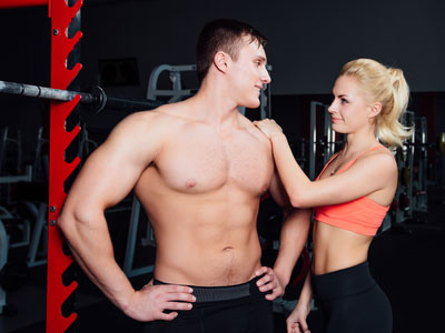 Picking Up a Woman at the Gym - Laura Moor Sex Heals, The Healthy Sexy Mom