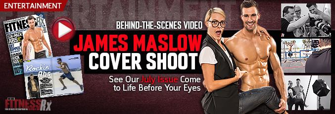 Behind-the-Scenes James Maslow Cover Shoot Video