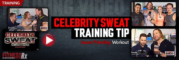 Celebrity Sweat Training Tip – Jason Priestly Workout