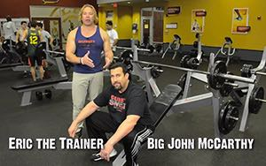 Celebrity Sweat Training Tip - Work Your Deltoids with MMA Legend Big John McCarthy