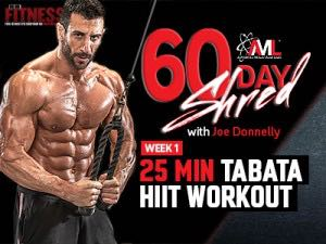 60 Day Shred Workout Week 1
