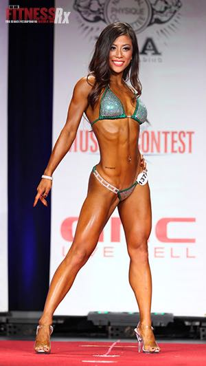 Clear High Heels & On the Lookout For a Fit Man - NPC Bikini Competitor Ting Wang Has a Bright Future