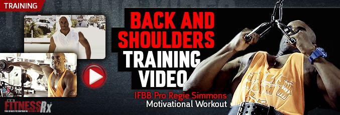Back and Shoulders Training Video