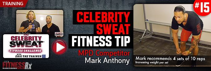 Celebrity Sweat Joins MPD Competitor Mark Anthony