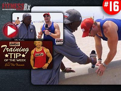 Celebrity Sweat Training Tip #7: Billy Blanks