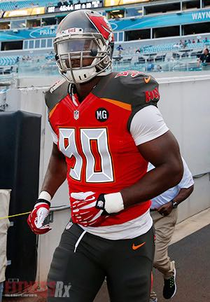 Back, Butt and Gut - Tampa Bay Buccaneers DE Michael Johnson Workout